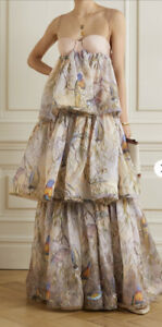 Zimmermann Candescent Parakeets Gown Dress -BNWT- RRP$2,300 AUD