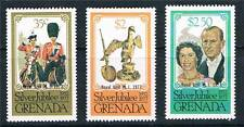 Grenada 1977 Royal Visit P13½x14 3v SG 896/8 MNH