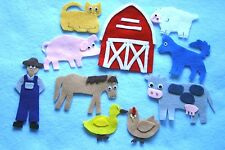 """Old MacDonald"" Children story felt/ flannel board set"