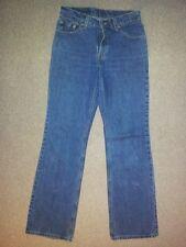 Levis 517 Boot Cut Low Rise Jeans Hose Blau Stonewashed W32 L34