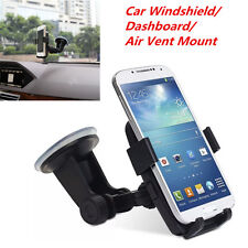 Car Windshield/Dashboard/Air Vent Mount Cradle Holder for Mobile Smart Phone GPS