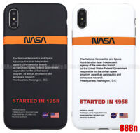 Nasa US Phone Case Cover For Apple iPhone XS Max XR X 8 7 Plus 6 6S
