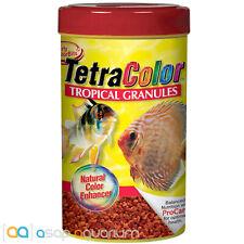 Tetra Color Tropical Granules 1.06oz (30g) Fish Food Color Enhancing Discus Food