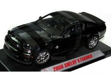 2008 Shelby GT 500KR 1/18 Die Cast BLACK KNIGHT RIDER By Shelby Collectible  NEW