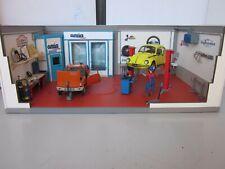 "Diorama artisanal pour voitures miniatures 1/18 "" Le Garage / Carrosserie """