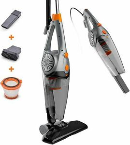 BLACK+DECKER 3-In-1 Upright, Stick & Handheld Vacuum Cleaner with Washable HEPA