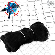 25 X 50FT Anti Bird Netting Garden Poultry Aviary Game Net Nylon 2.4