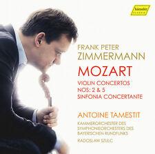 Mozart / Zimmermann - Violin Concertos Nos. 2 & 5 - Sinfonia Concertante [New CD