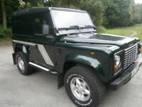 Land Rover Defender 90 300 Tdi County  1999  One owner  Low miles