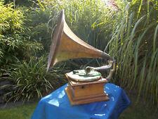 DGAG Trichtergrammophon Grammophon  - HMV G&T Horn Gramophone