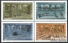 canada 1397-1400 bloc de quatre (complète edition) timbres prémier jour 1993 Gue