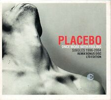 PLACEBO Ltd Ed 2CD ONCE MORE WITH FEELING - Singles 1996 - 2004 Remix Bonus Disc