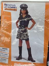 CALIFORNIA COSTUMES POLICE OFFICER GIRL HALLOWEEN COSTUME SIZE XL
