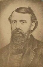 DWIGHT L. MOODY, EVANGELIST, PUBLISHER, BROOKLYN NY., C.1875 CDV PHOTO