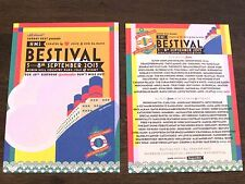 Rare BESTIVAL 2013 Festival Flyers x 2  - Isle Of Wight - Rob da Bank