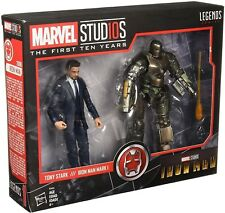 NEW Hasbro Marvel Legends Studios First Ten Years Tony Stark + Iron Man Mark I 1