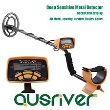 Xmas Sale Deep Sensitive Metal Detector Gold Digger Treasure Hunter Gift
