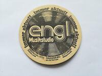 Alter Bierdeckel - engl Musikstudio - Tuttlingen,Ravensburg ca. 1970 /K2