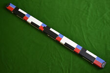 NEW QUALITY DELUXE MULTI COLOURED 3/4 SNOOKER CUE CASE