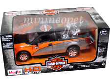 MAISTO 32187 HARLEY DAVIDSON FORD F-150 STX 1/27 + 1/24 2000 FLSTF FAT BOY BIKE