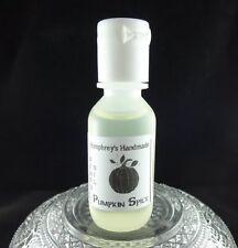 PUMPKIN SPICE Men's Beard Oil, Small .5 oz Conditioner, Natural Serum Cinnamon