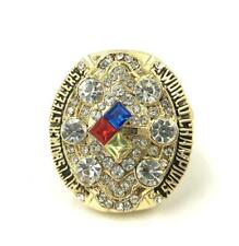 2008 Pittsburgh Steelers World Championship Ring //-