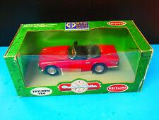 BRITAINS COLLECTIBLES 1:18 RED TRIUMPH TR6 model car diecast