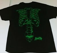 Liquid Blue Spinal Tap X-Ray Skeleton Shirt New XL