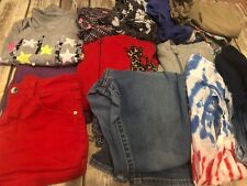 Girls Clothing Lot Size 14 16 Mixed Item Lot Justice North Face Cat Jack