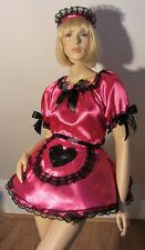 SISSY ZOFEN KLEID MAID SATIN TRANSGENDER CROSSDRESSER PRINCESS DRESS