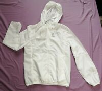 UNIQLO Women's White Lightweight Packable Coat Size XL New With Tags
