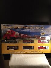Walthers - Trainline Big Sky Express HO Train Set -- Santa Fe  931-860 ATSF