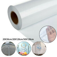 Transparente Plástico Impermeable Mantel Protector Vinilo PVC Tela Artesanía