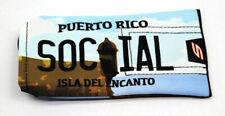 Social Paintball Barrel Condom Cover Bag - Puerto Rico License Plate