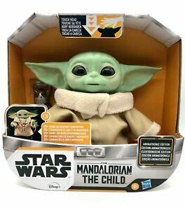 Baby Yoda The Child Animatronic Edition: Mandalorian New Star Wars Disney Hasbro