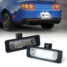 Xprite White LED License Plate Lights For Ford Mustang Flex Focus Fusion Taurus