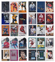 Insert Parallel Rookie Numbered SP Rare RC - Pick From List - NHL Hockey