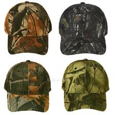 Unisex Camouflage Military Adjustable Hat Camo Hunting Fishing Army Baseball Cap