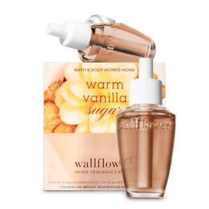 2-Pack Bath & Body Works WARM VANILLA SUGAR Wallflower Fragrance Refill Bulbs