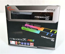 Trident Z G.Skill 16GB/2 x 8GB DDR4 SDRAM Memory Kit W/Vibrant RGB LED Light Bar