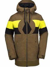 New 2018 Volcom Mens Hal Snowboard Jacket Medium Moss