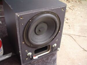 Sony SA-WMSP1 Powered Home Theatre Subwoofer Stereo Speaker Refurbished