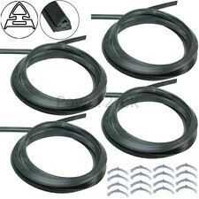 4 x Swift Oven Cooker Door Seal Gasket & Rounded Corner Fixing Clips Curved