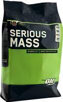 Optimum Nutrition Serious Mass Gainer, Pick Flavor, 12 lb, 12 lbs, 12 pound