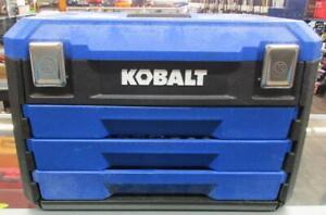 Kobalt 227-Piece (SAE) and Metric Polished Chrome Mechanic's Tool Set Pre-Owned