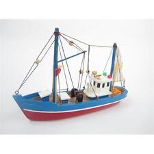 Blue Dolphin Starter Barca Kit: Costruisci il tuo modello in legno Barca da pesca