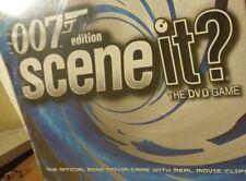 New Scene It? 007 Collector's Edition Tin Case James Bond Trivia Dvd Game