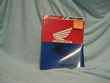 Honda CB 750 F II N 1992 Werkstatthandbuch Reparaturhandbuch manual Original
