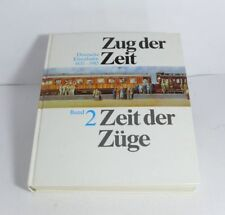 Libro Tren el Tiempo - Tiempo el Trenes Alemán Tren 1835-1985 Band 2