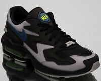 Nike Air Max 2 Light Thunderstorm Mens Black Casual Lifestyle Shoes AO1741-002
